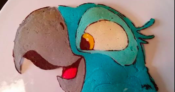 Dad Creates Intricate, Colorful Works Of Art All Out Of Pancakes